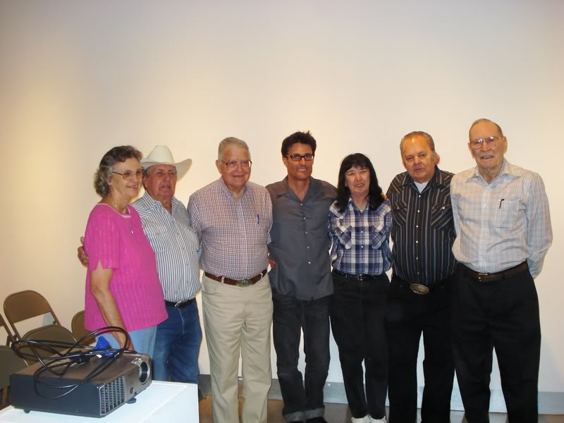 Ramona Tollet, Jack Neal, Gary Tollet, John, Sharon and Bill Griggs, and Travis Holley