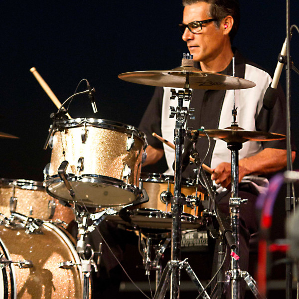 Jerry Angel on drums.
