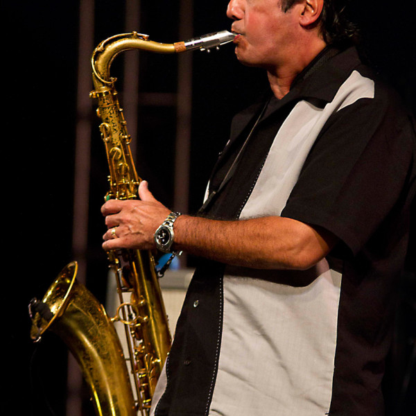 Mike Acosta on Sax