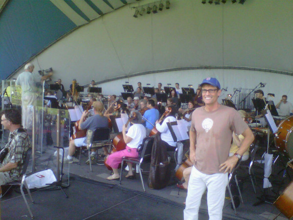 John with orchestra