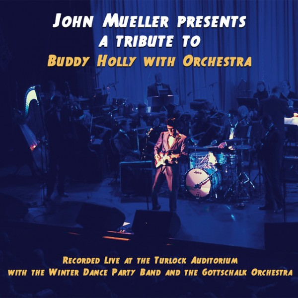 A Tribute To Buddy Holly With Orchestra CD