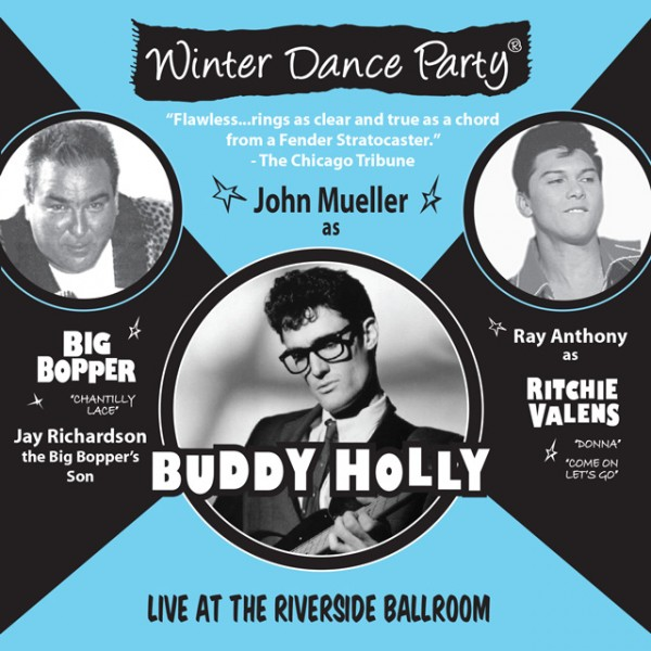 Winter Dance Party Live at the Riverside Ballroom CD